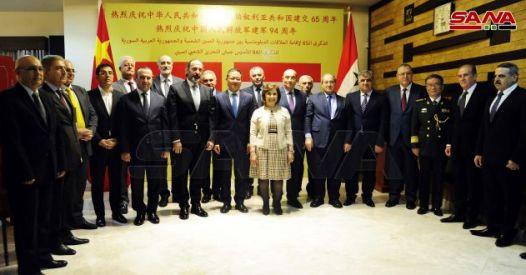 Cina e Siria 2 anniversari celebrati e un messaggio al mondo