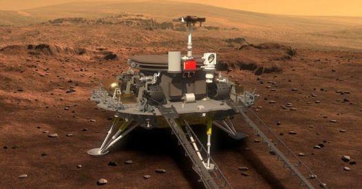 Il primo rover cinese atterrato con successo su Marte