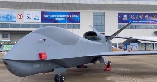 WZ-7, il nuovo drone della Cina