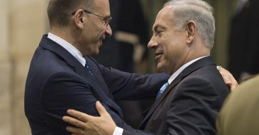 Netanyahu ringrazia l'Italia per il sostegno