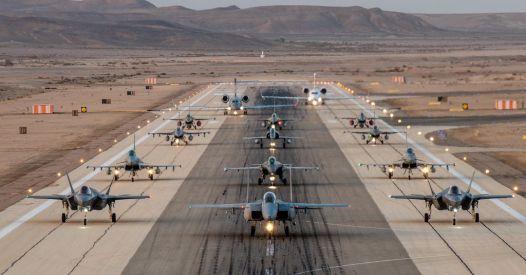L'Italia partecipa alla più grande esercitazione aerea della storia di Israele