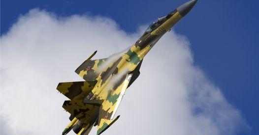 Su-35 si schianta nell'estremo oriente della Russia a causa di un malfunzionamento del motore