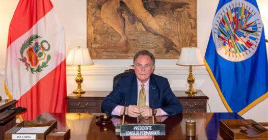 Perù, l'ambasciatore presso l'OSA conferma uscita dal Gruppo di Lima