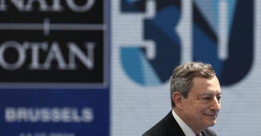 La stampa padronale, la Nato e Mario Draghi