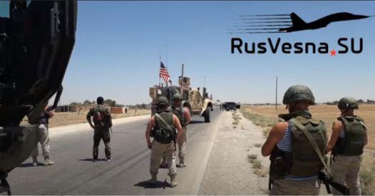 Pattuglia russa costringe al ritiro convoglio Usa nella Siria orientale